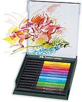 """Набор капиллярных ручек-кисточек Faber Castell PITT® ARTIST PEN """"BRUSH"""" BASIC 12 цветов, 267421"""