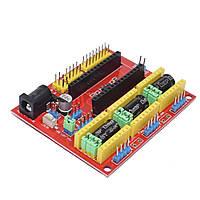 Плата ЧПУ Arduino Nano CNC Shield v4.0