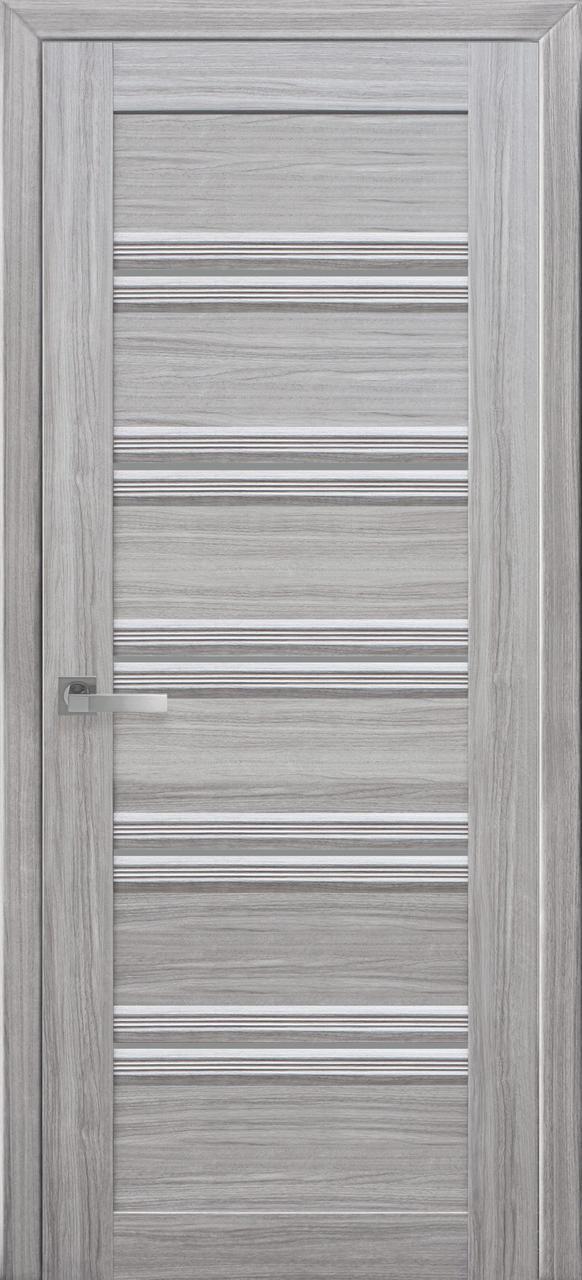 Двері Новий стиль Віченца С1 GR Перли Срібний