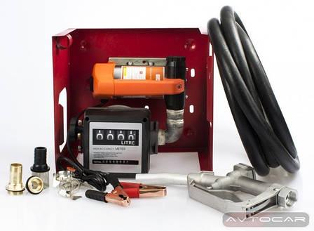 Мини АЗС для дизельного топлива Rewolt SL011A-12V на 12В 80л/мин бесплатная доставка*, фото 2