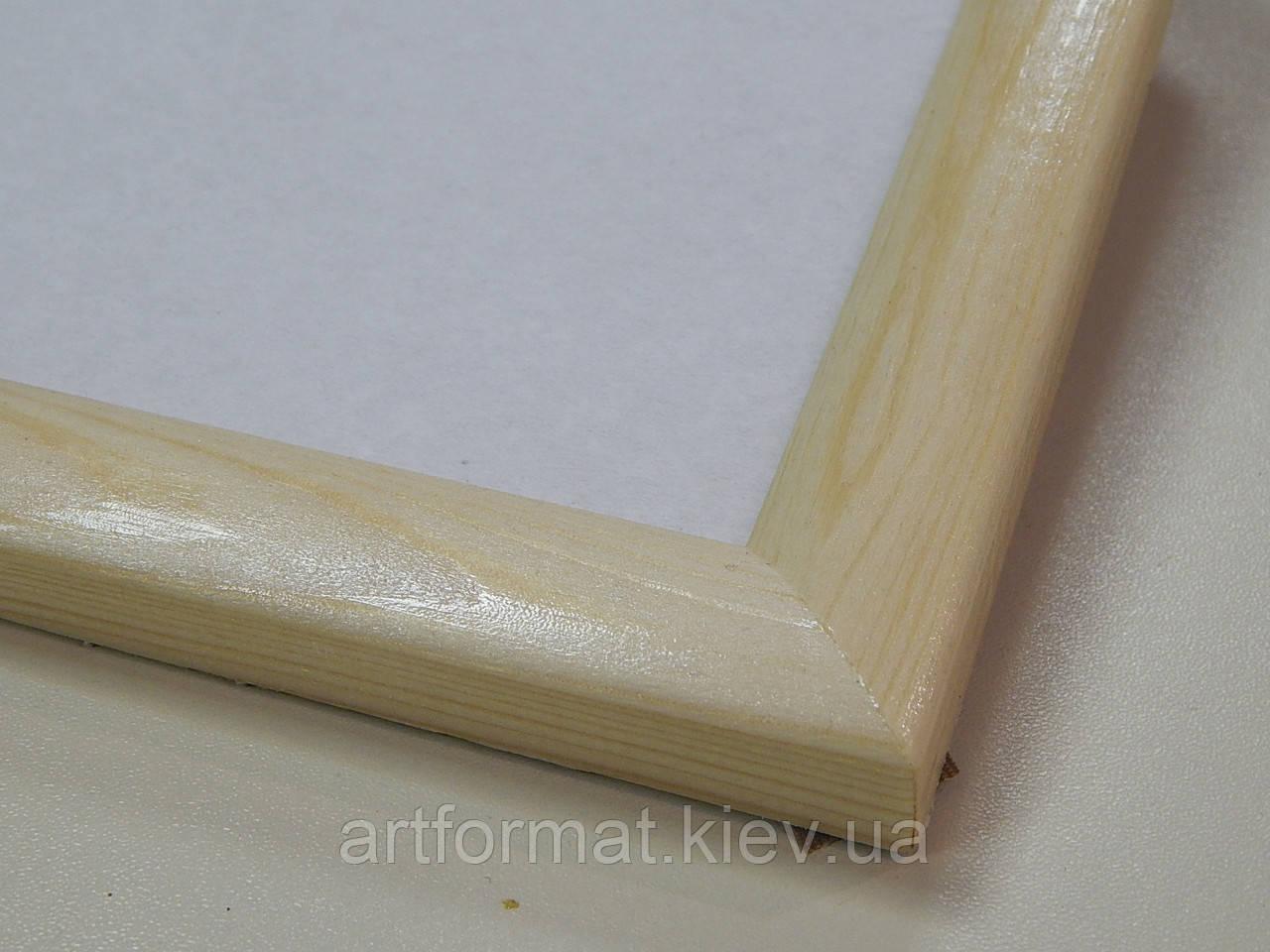 Рамки деревянные .23 мм .Сосна .Лак матовый.