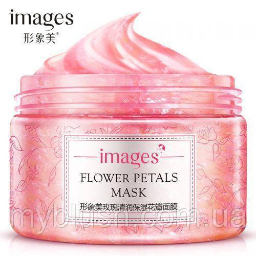 Маска для лица Images Flower Petals Mask Rose 120 g