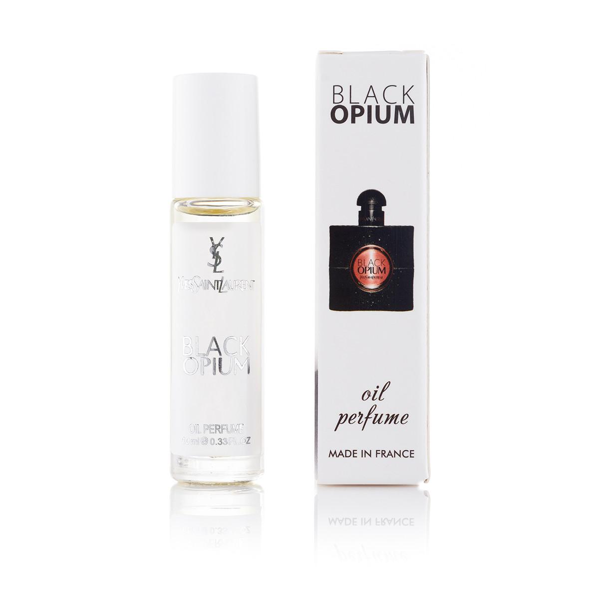 Масляний парфуму Yves Saint Laurent Black Opium - 10 мл (кульковий) (ж)