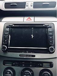 Штатна автомагнітола для VW Volkswagen GOLF 6 Polo New Bora JETTA PASSAT B6 SKODA