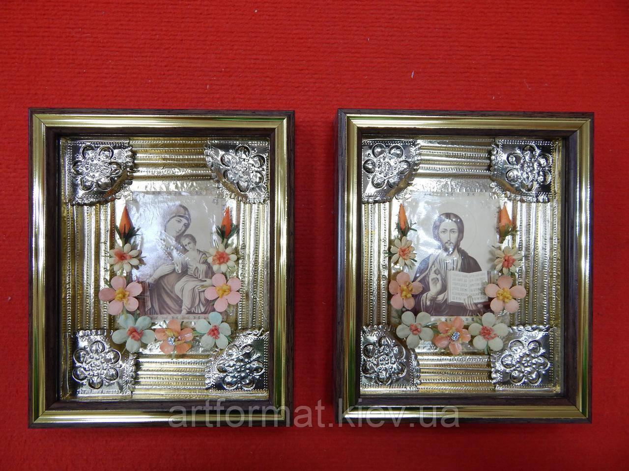 Реставрация,Оформление старинных икон.Обрамление икон