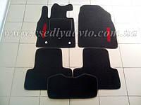 Ворсовые коврики в салон MAZDA CX7 с 2007 г. (Черные)