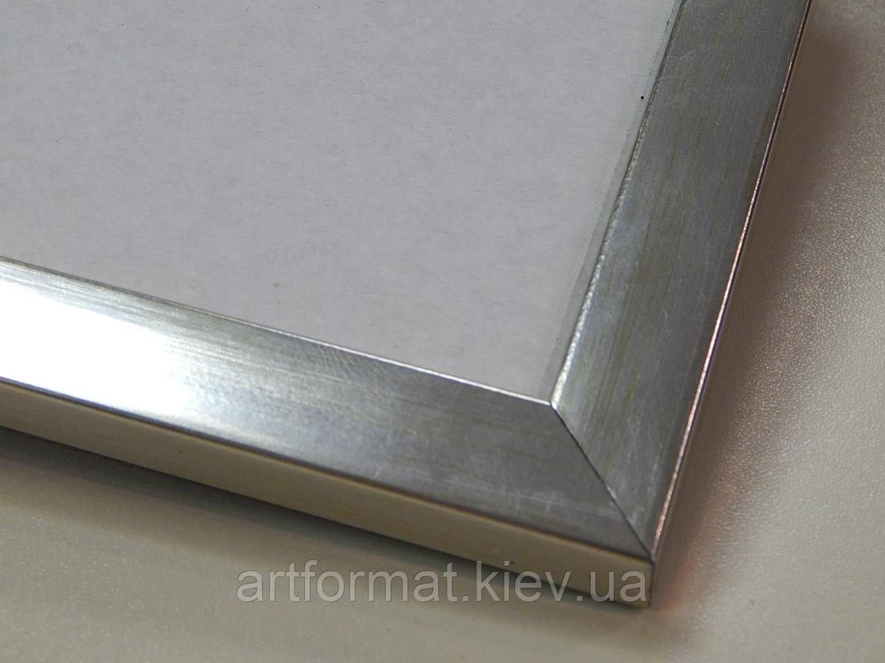 Рамка 10х15.16 мм.Серебро металик.