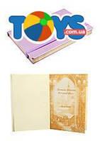 Блокнот, на поролоне, на резинке, 144 листа, в клетку А5, 13*19 см, розовый металлик, WB5734