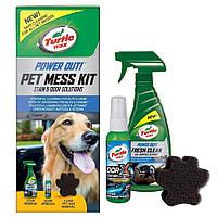 Набор Turtle Wax Pet Mess Kit 53037 для очистки салона и дома от шерсти и загрязнений после животных