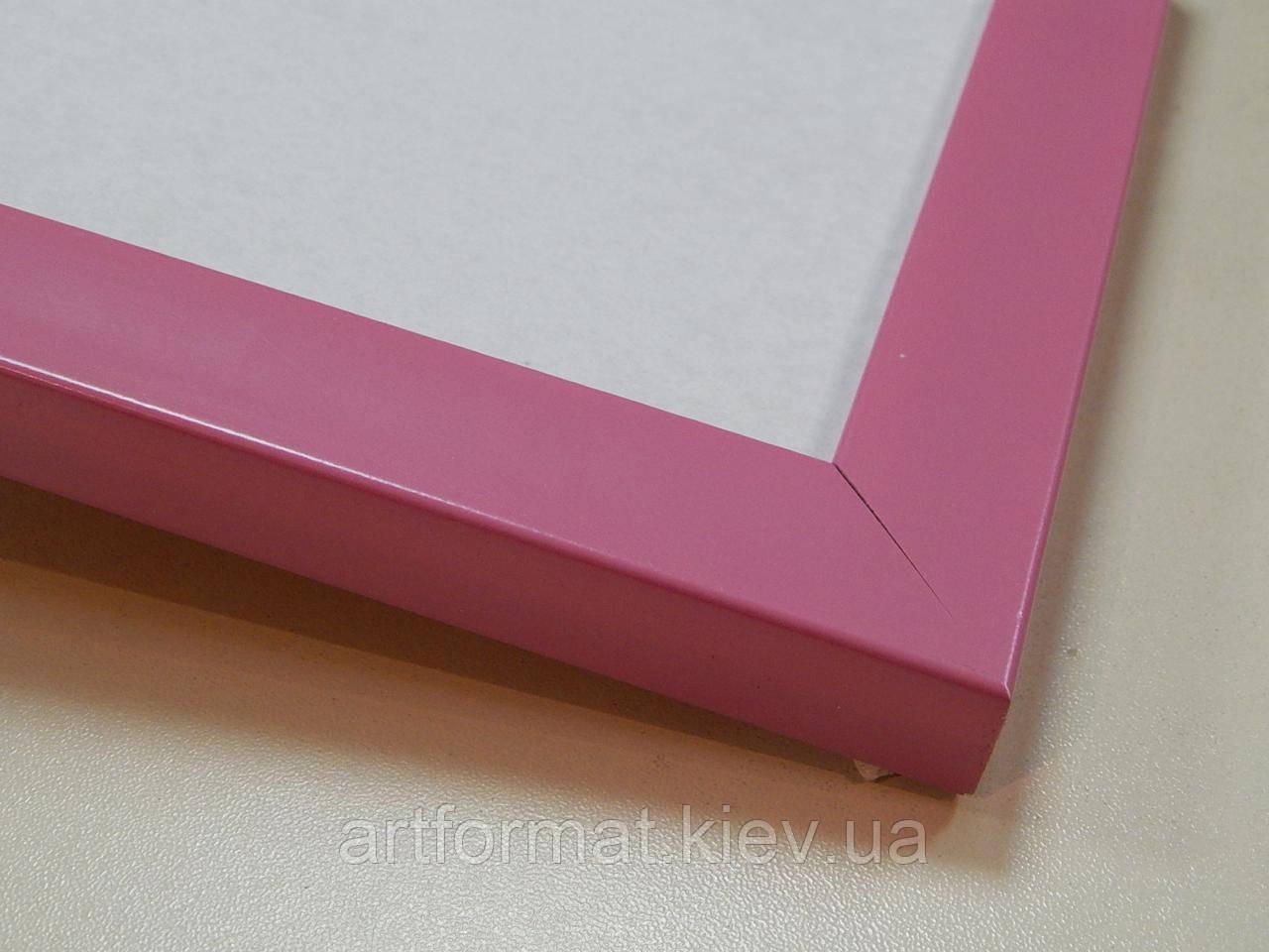Рамка А2 (420Х594).22 мм.Розовый.Пластик