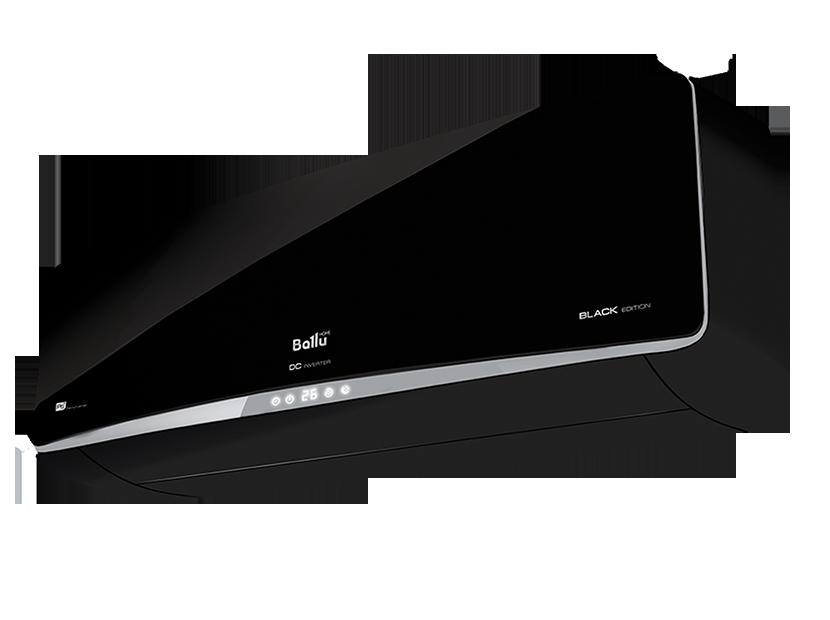 Инверторный кондиционер Ballu BSPI-10HN1/BL/EU Platinum Black Edition DC Inverter