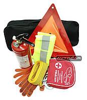 Набор автомобилиста Автокар™ Стандарт, сумка первой помощи из 7 предметов