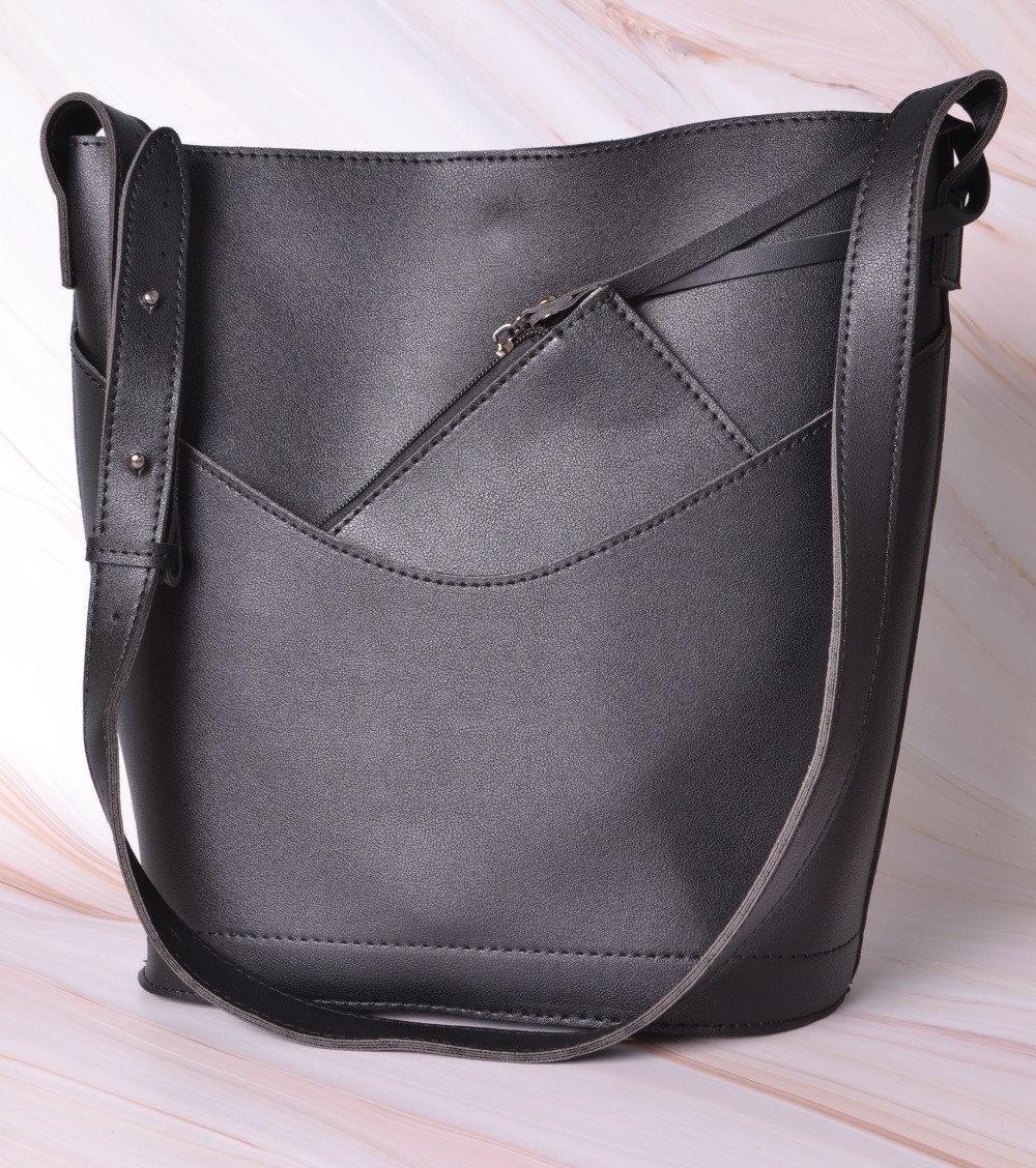 Женская сумка-тоут с кошельком