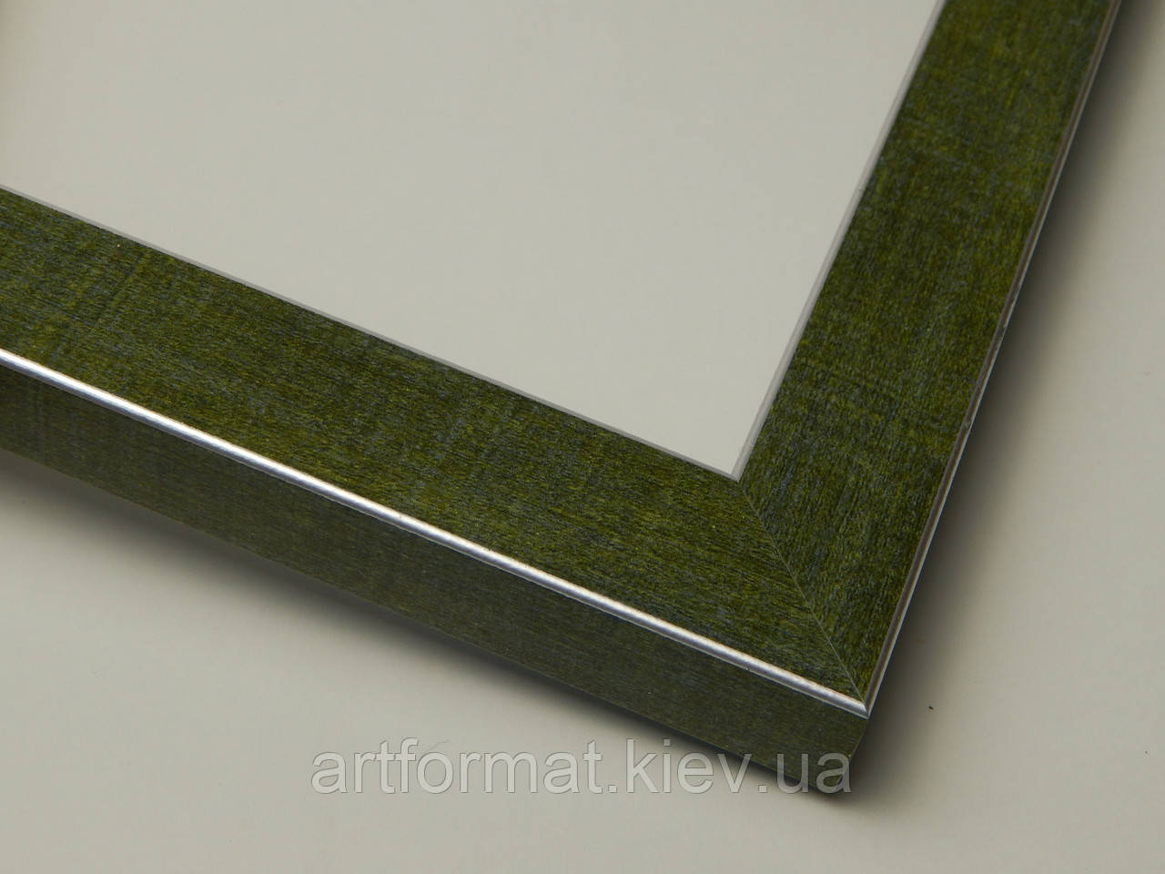Рамка А2(420х594).Для картин,плакатов,фото...22 мм.Зеленый