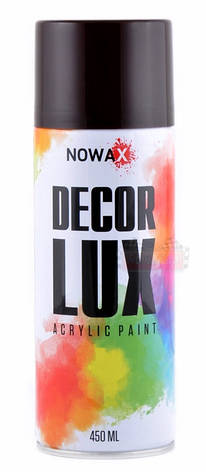 Акриловая краска Nowax Decoк Lux RAL 3005 цвет: красное вино 450мл., фото 2