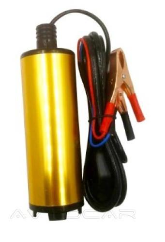 Насос REWOLT топливоперекачивающий погружной с фильтром в алюминиевом корпусе 38мм. (для воды и дизеля)