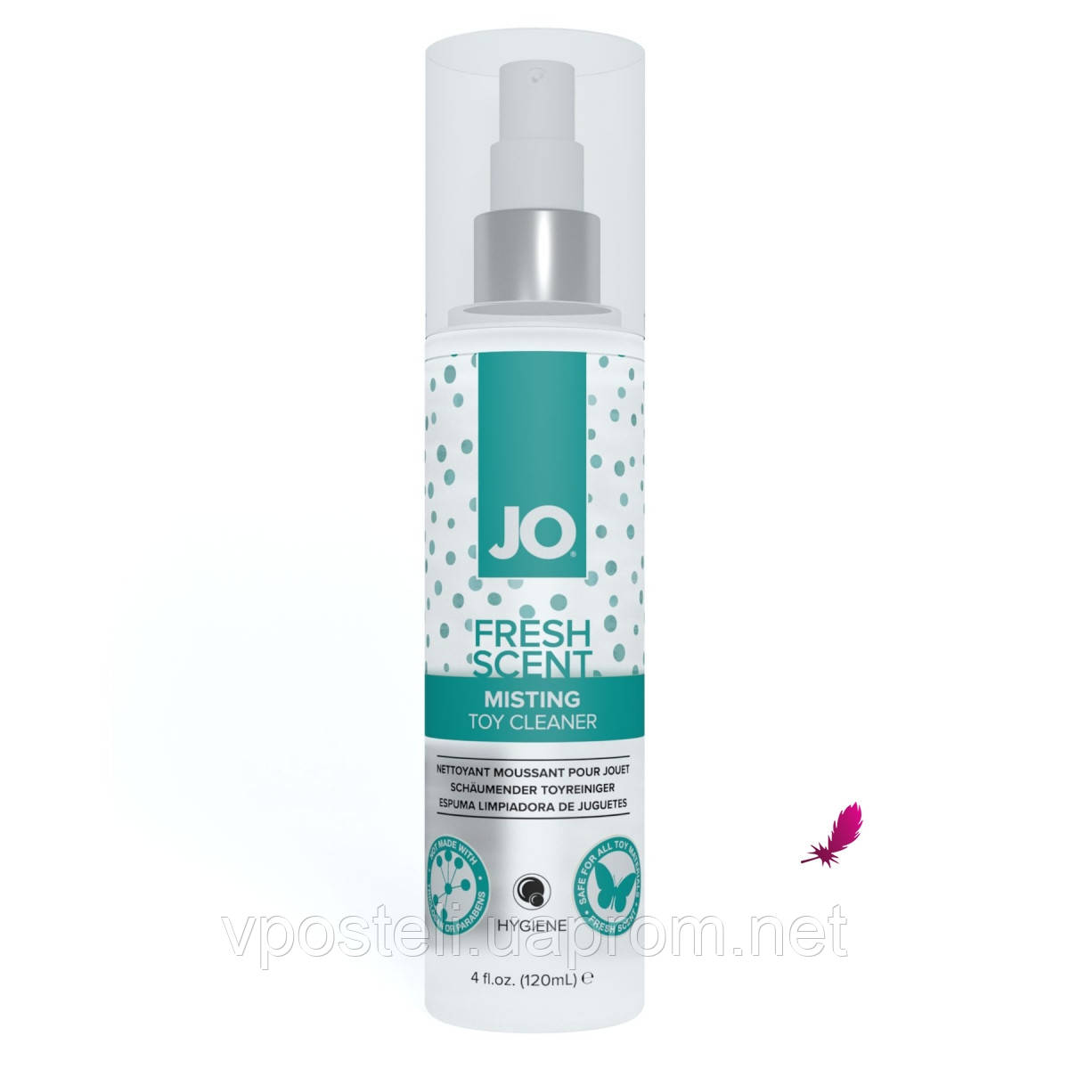Чистячий засіб System JO Fresh Scent Misting Toy Cleaner