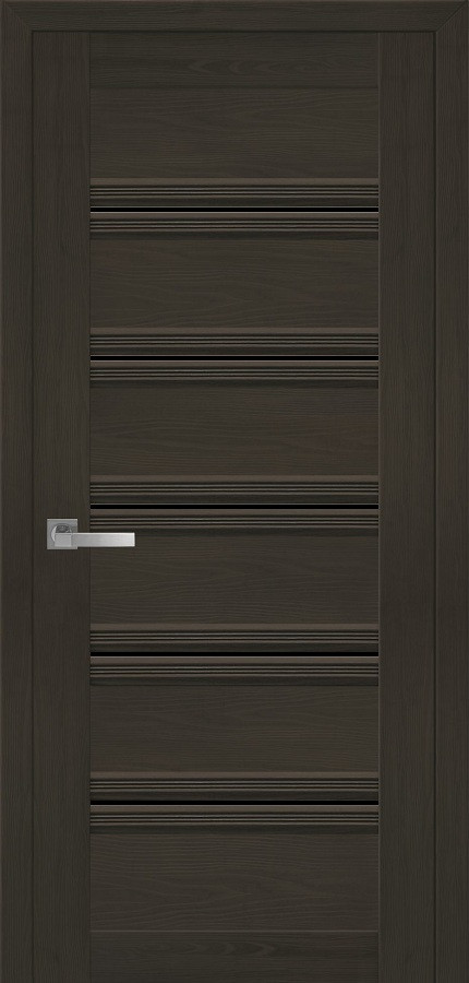 Двери Новый стиль Виченца С1 BLK жемчуг кофейный