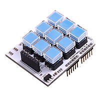 Key Pad Shield 3x3 для Arduino
