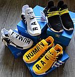 Мужские кроссовки Adidas NMD Pharrell Williams x  'Human Race' Yellow. B Живое фото (Реплика ААА+), фото 2