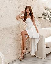 Привлекательное платье удлиненное сзади, фото 3