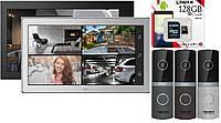 Комплект HD WI-FI домофона ARNY AVD-1040 WiFi + карта памяти 128Gb
