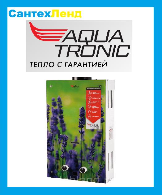 Газовая колонка Aquatronic JSD20-10A08 (Цветы)