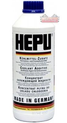 Антифриз HEPU G11 (синий, упаковка 1,5л P999)