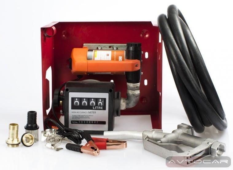 Мини АЗС для дизельного топлива на 24В ➠ 80л/мин бесплатная доставка*
