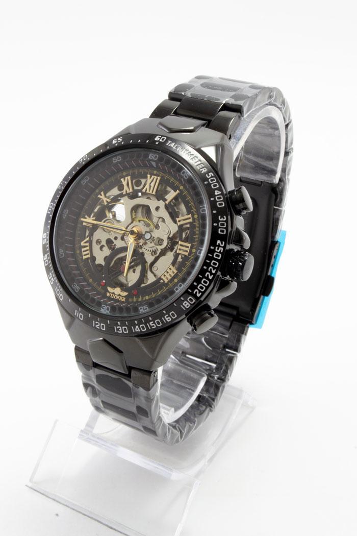 Часы мужские механические скелетон