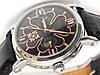 Мужские (Женские) кварцевые наручные часы Patek Philippe на кожаном ремешке