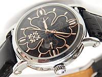 Мужские (Женские) кварцевые наручные часы Patek Philippe на кожаном ремешке, фото 1