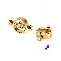 Магнитные зажимы на соски FF Gold Magnetic Nipple Clamps