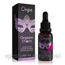 Возбуждающие капли для клитора Orgie Orgasm Drops