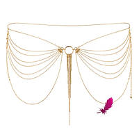 Эротические цепочки на попу Magnifique Gold Bijoux (серебристые), фото 1