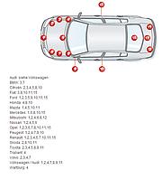 Набор реставрационный Turbo Racing для DODGE ✔ емкость 10+400 мл.