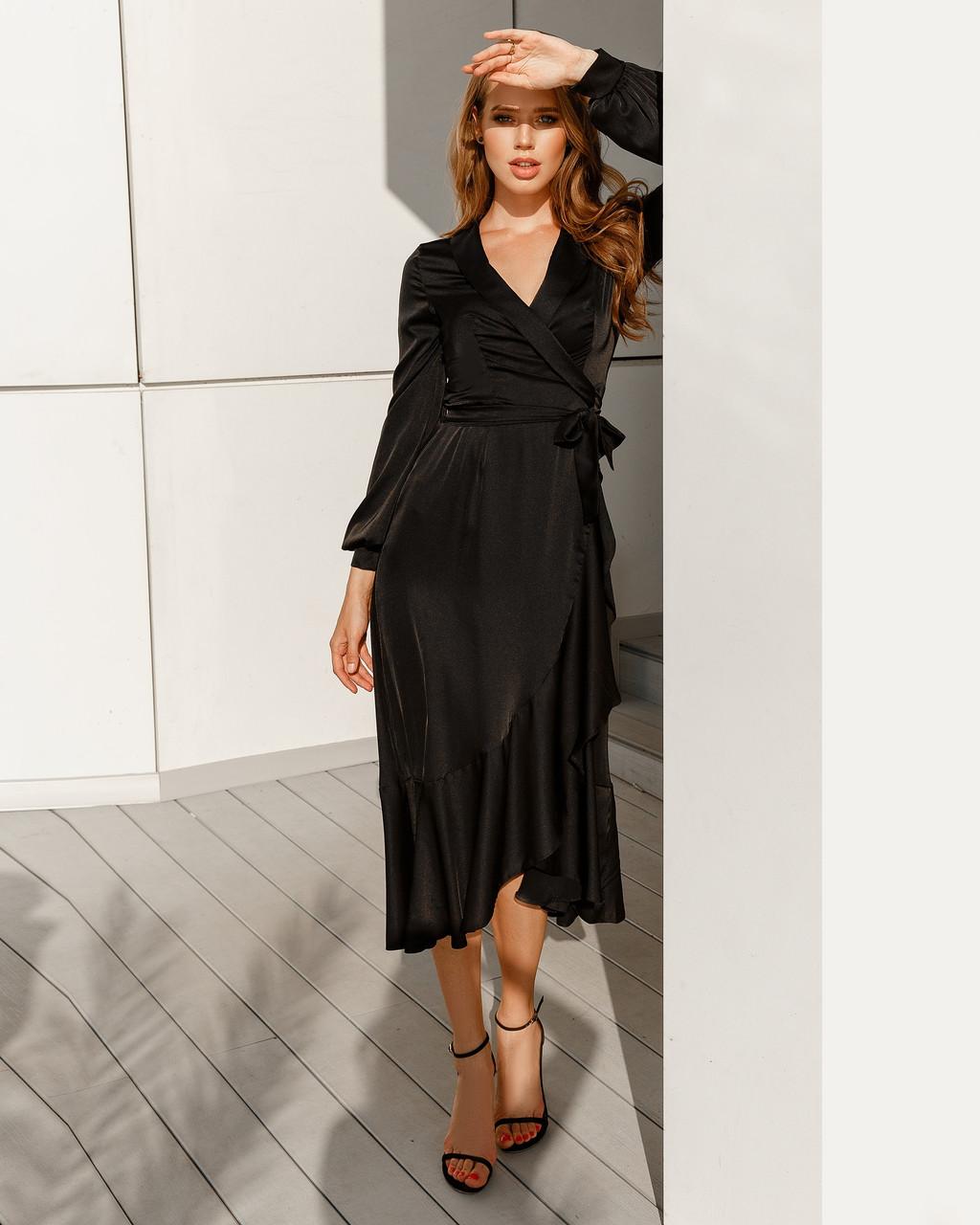 Супермодное шелковое платье
