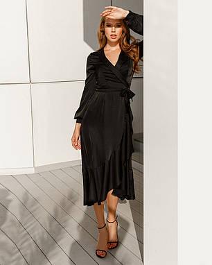 Супермодное шелковое платье, фото 2