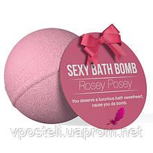 Бомбочка для ванны с феромонами и афродизиаками Dona Rosey Posey