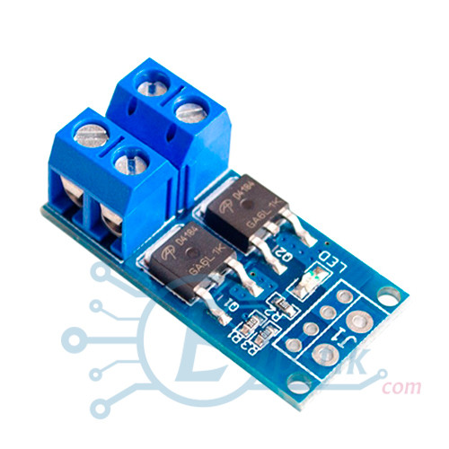 Модуль на двух MOSFET AOD4184, управления нагрузкой до 15А, 400Вт.