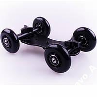 Тележка скейтер слайдер для камеры Little Dolly, плавный ход