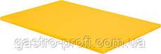Доска разделочная 450*300 мм желтого цвета YatoGastro YG-02172