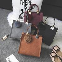 Вместительная женская сумка, фото 1