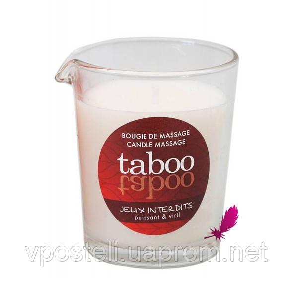 Массажная свеча Taboo (кокосовый цветок)
