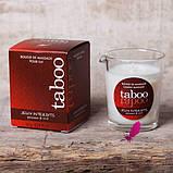 Массажная свеча Taboo (кокосовый цветок), фото 3
