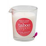 Массажная свеча Taboo (кокосовый цветок), фото 4
