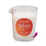 Массажная свеча Taboo (кокосовый цветок), фото 7