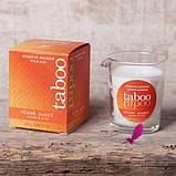 Массажная свеча Taboo (кокосовый цветок), фото 9