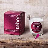 Массажная свеча Taboo (кокосовый цветок), фото 10