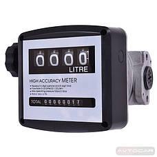 Счетчик механический REWOLT SL010P 120л/мин, фото 3